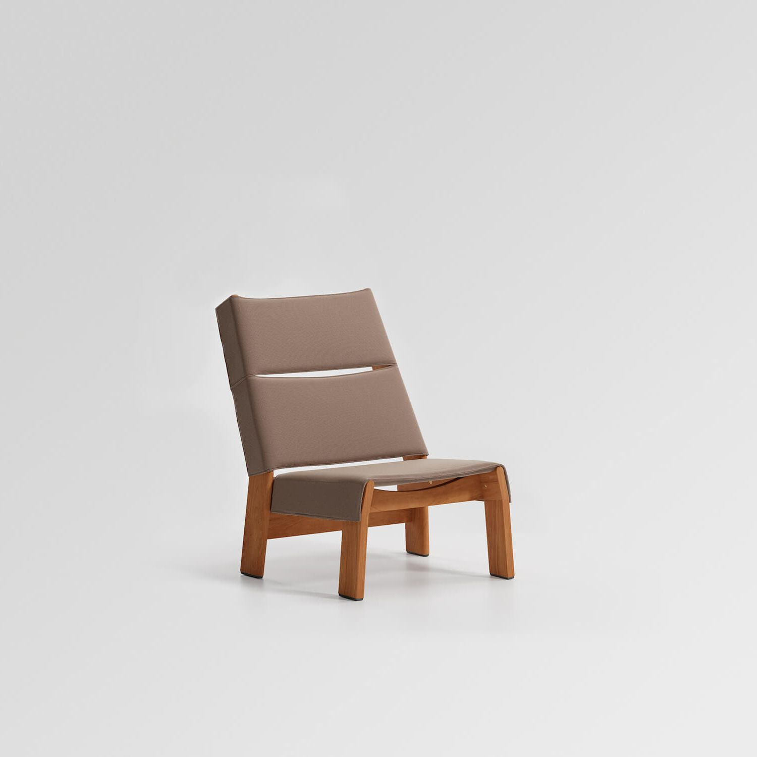 Band Club Chair Teak