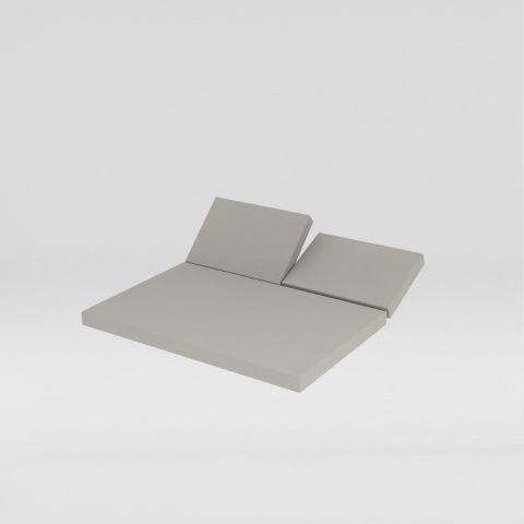 Daybeds cojín trasero con posiciones y asiento