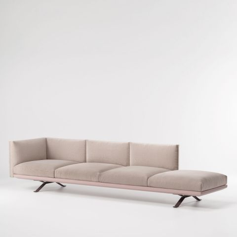 Boma sillón esquinero izquierdo de 4 plazas