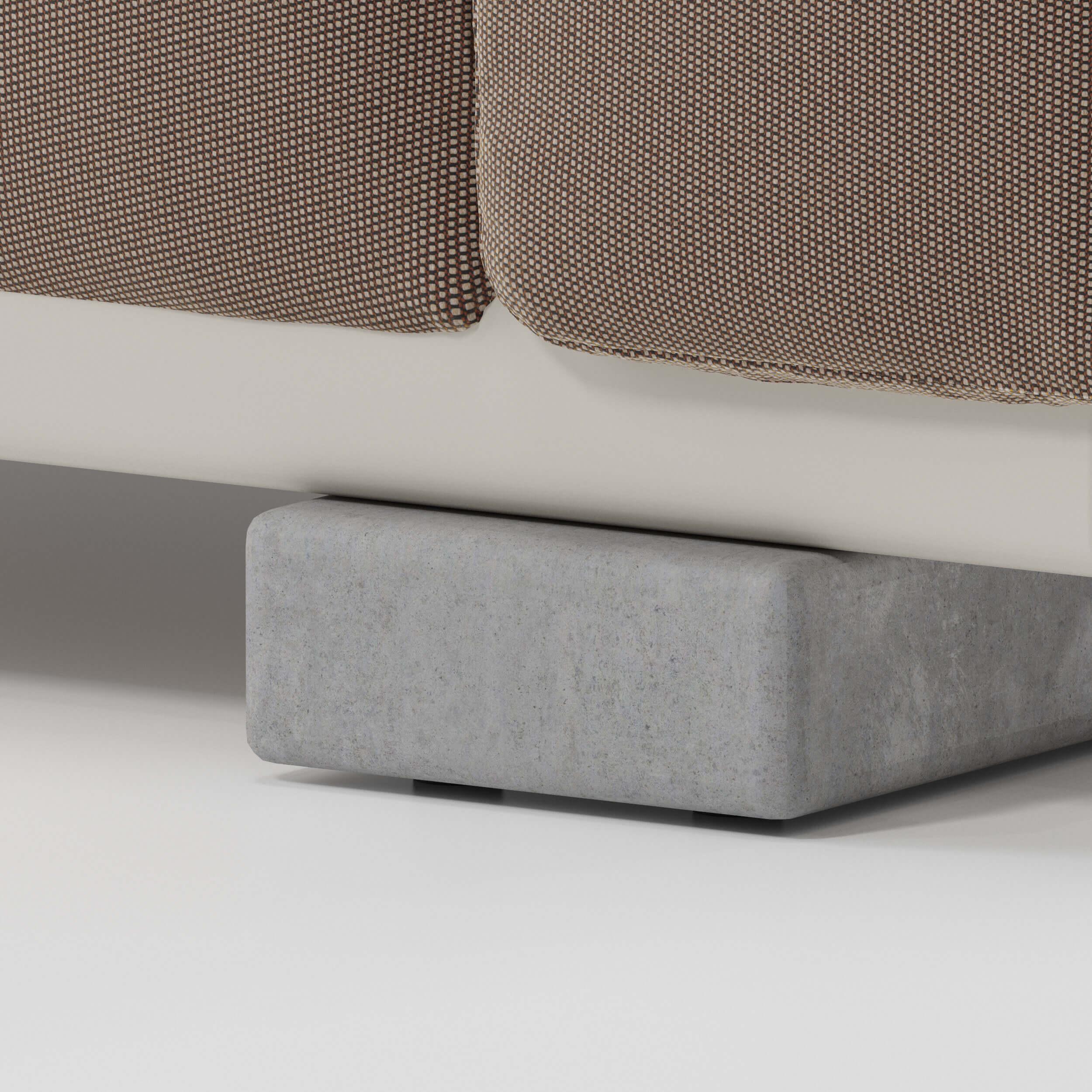 Concrete legs