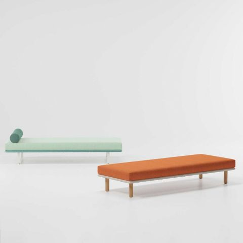 Bitta - Module chaise longue/tabouret