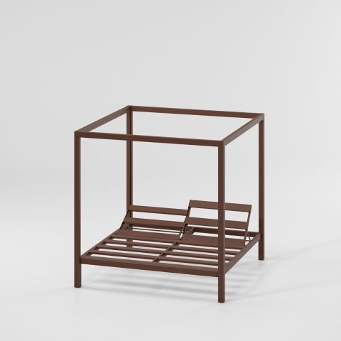 Raised Daybed, 5-Position Backrest