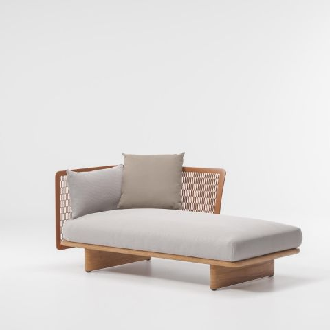 Mesh Right Chaise Longue -1 Side Connection