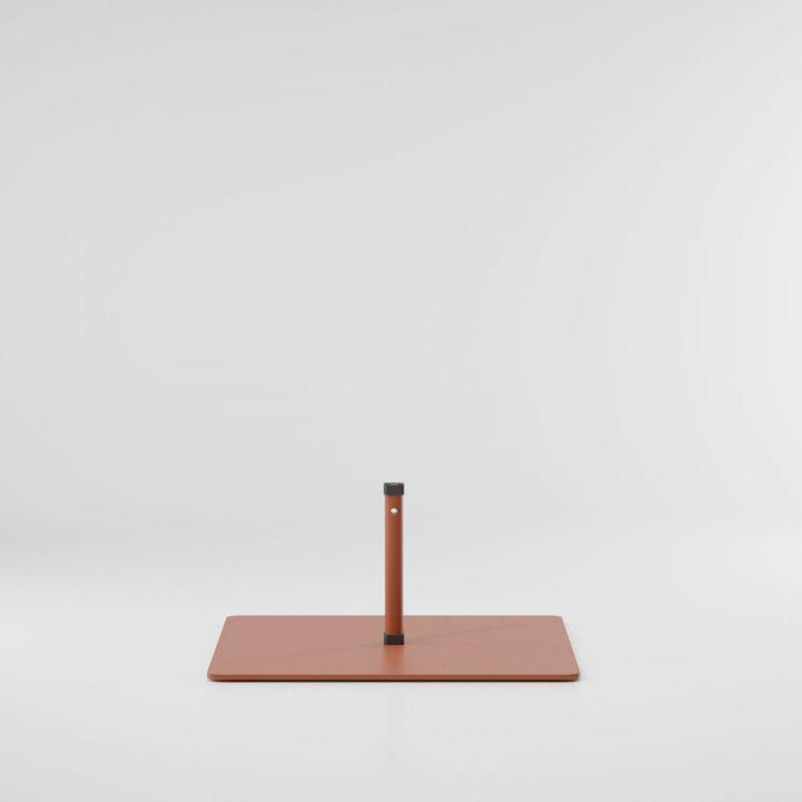 Meteo base de acero para parasol S