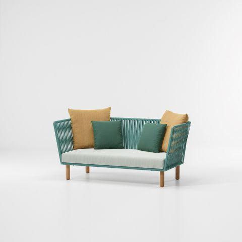 Bitta sofá de 2 plazas Bela Rope