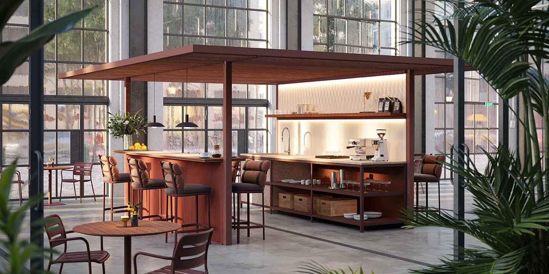 Pavilion O Kitchen
