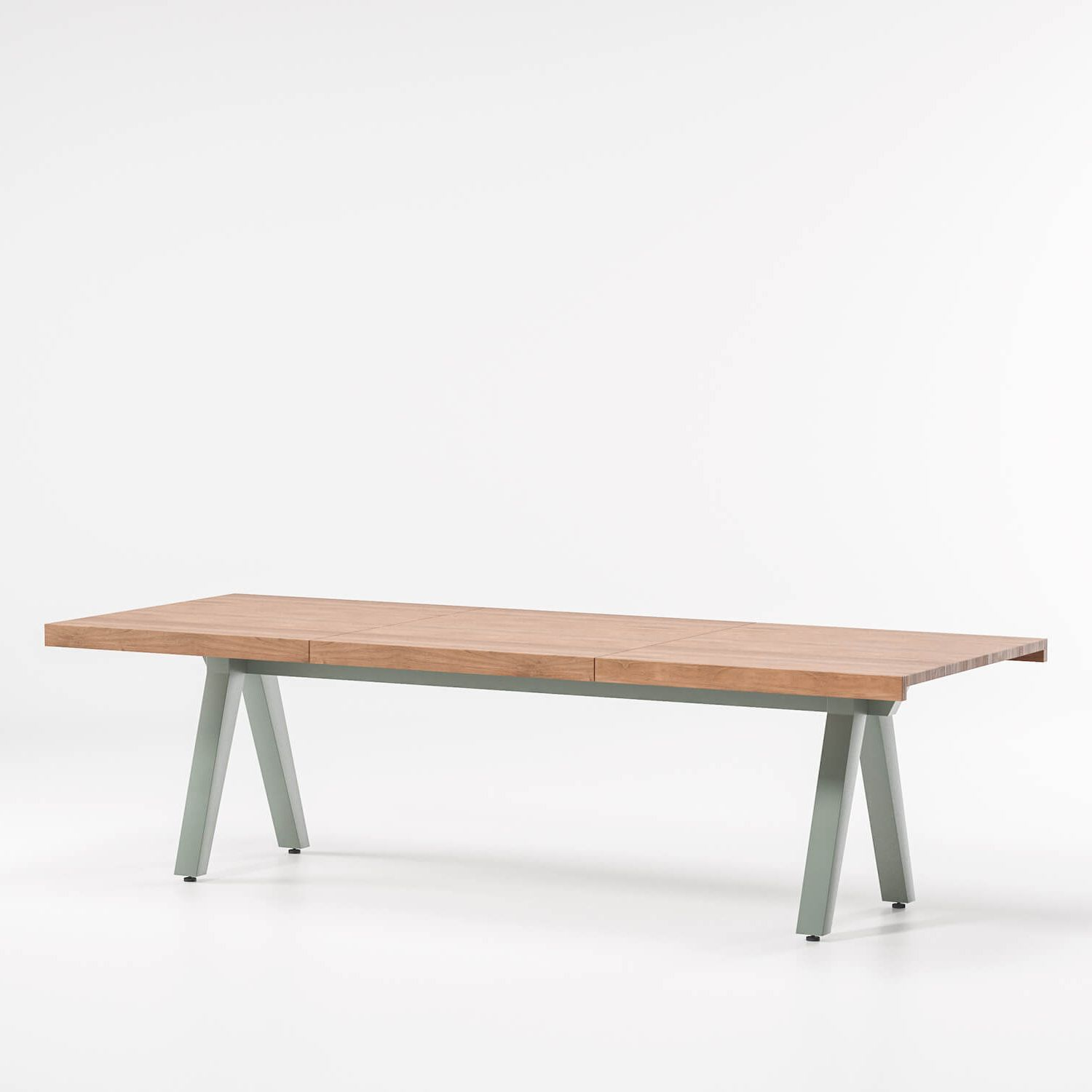 Kettal   Workspace   Vieques Dining Table Top 9 Guests Aluminium Legs
