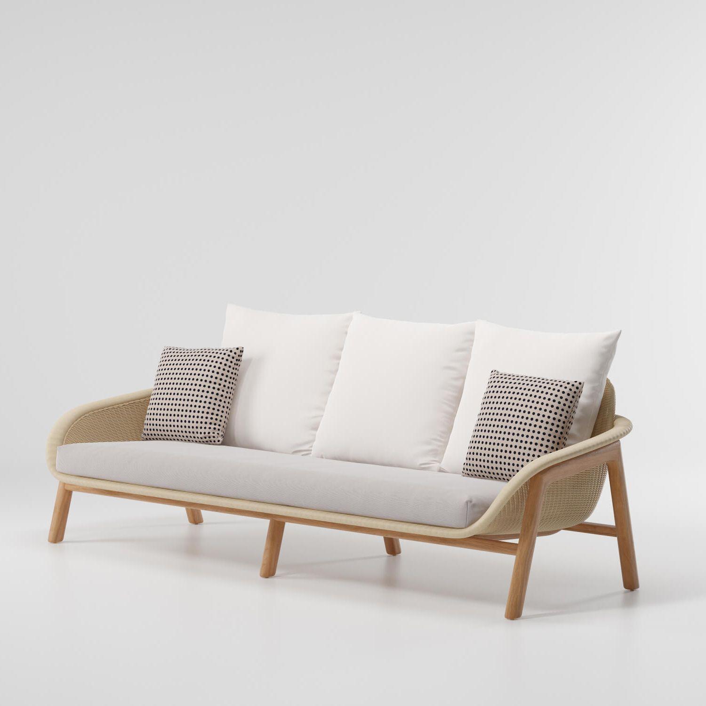 Vimini sofá de 3 plazas